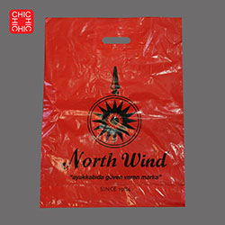 Carrier Bag red