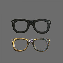 metal acces-glasses